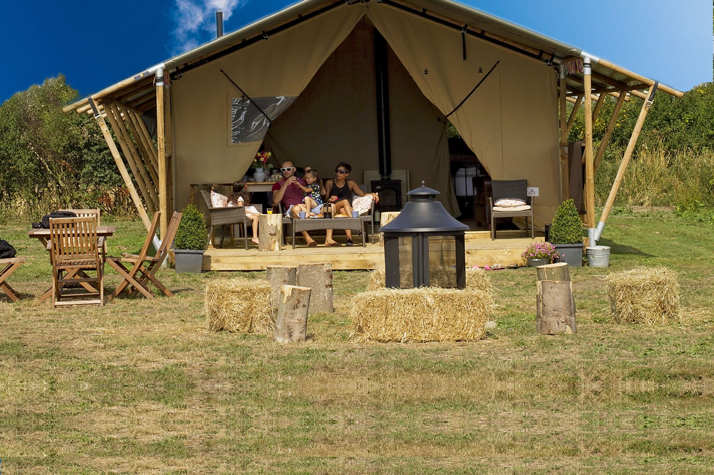 Glamping in Thorpeness